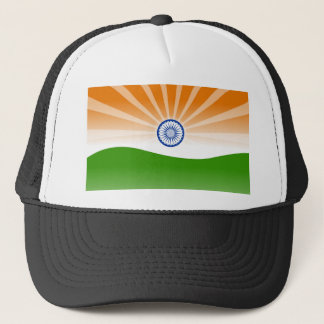 Indian sun trucker hat