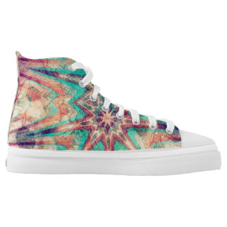 Indian Sunset Printed Shoes