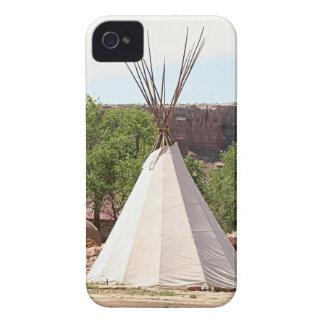 Indian teepee, pioneer village, Utah iPhone 4 Case-Mate Case