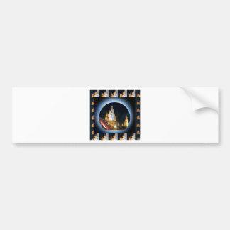 Indian Temple : Diwali Decorations Bumper Sticker