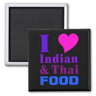 Indian & Thai Food magnet 2