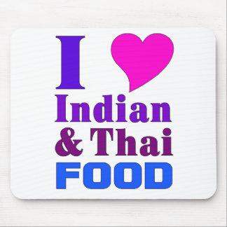 Indian & Thai Food mousepad 1