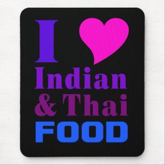 Indian & Thai Food mousepad 2