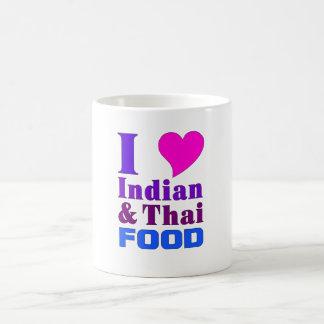 Indian & Thai Food mug 1