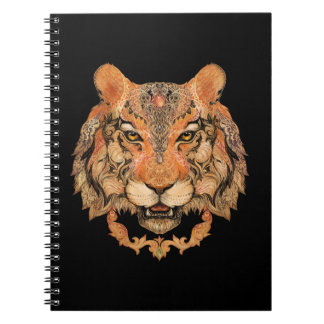 Indian Tiger Tattoo Notebook