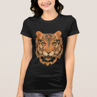 Indian Tiger Tattoo T-Shirt