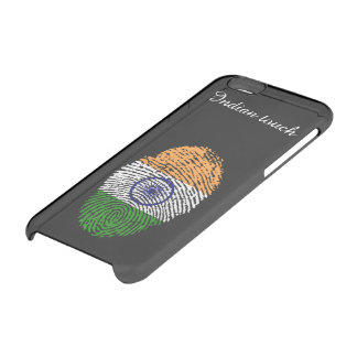 Indian touch fingerprint flag clear iPhone 6/6S case