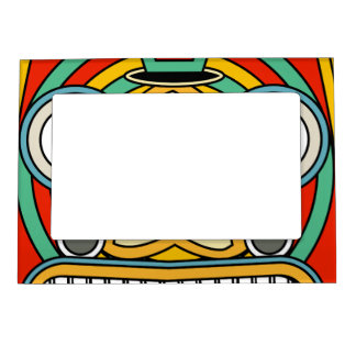 indian tribal magnetic picture frame