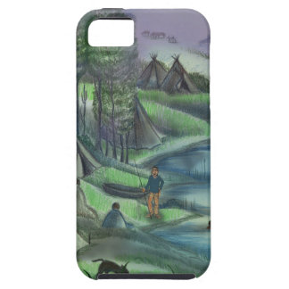 Indian village during the summer iPhone 5 cases