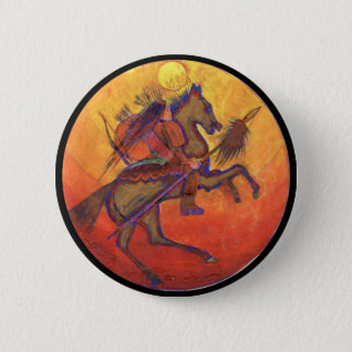 Indian Warrior colour - Indian Button