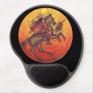 Indian Warrior colour - Indian Mousepad