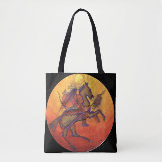 Indian Warrior - Indian Tote bag
