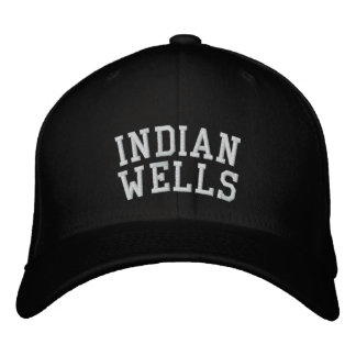 Indian Wells Embroidered Baseball Cap