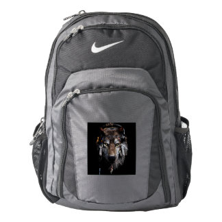 Indian wolf - gray wolf backpack