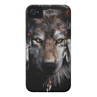 Indian wolf - gray wolf Case-Mate iPhone 4 case