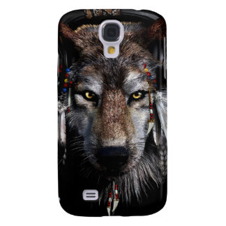 Indian wolf - gray wolf galaxy s4 covers