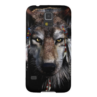 Indian wolf - gray wolf galaxy s5 cover