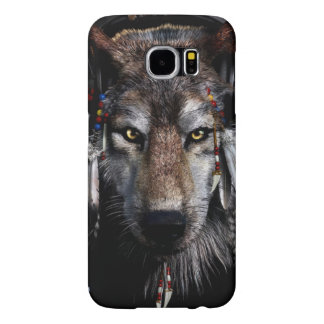 Indian wolf - gray wolf samsung galaxy s6 cases