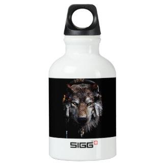 Indian wolf - gray wolf SIGG traveller 0.3L water bottle