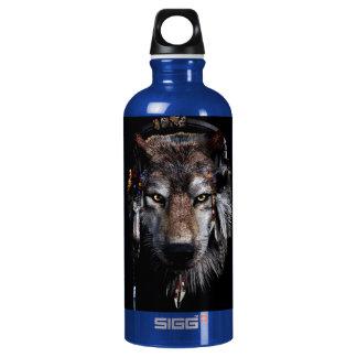 Indian wolf - gray wolf SIGG traveller 0.6L water bottle