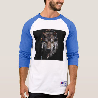 Indian wolf - gray wolf T-Shirt