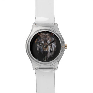 Indian wolf - gray wolf watch