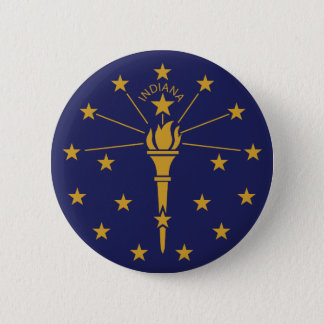 Indiana 6 Cm Round Badge
