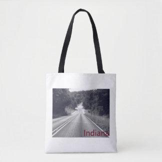 Indiana Back Road Tote Bag