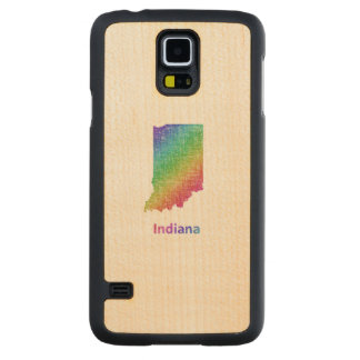 Indiana Carved Maple Galaxy S5 Case