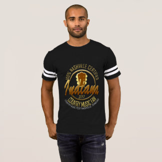 Indiana Country Music Fan Men's Football T-Shirt
