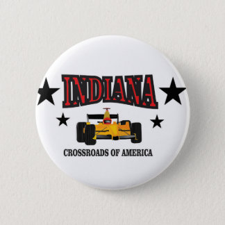 Indiana crossroad 6 cm round badge
