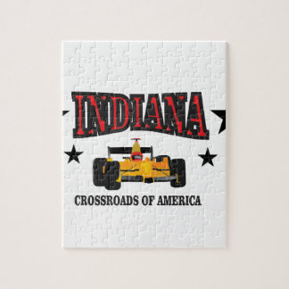 Indiana crossroad jigsaw puzzle