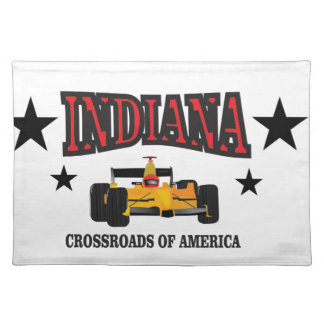 Indiana crossroad placemat