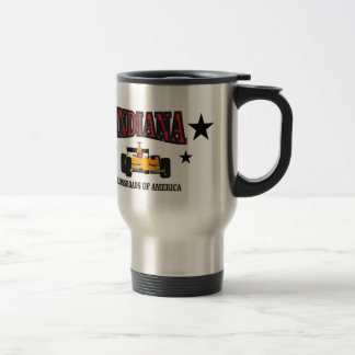 Indiana crossroad travel mug