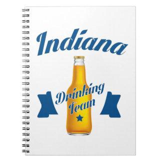Indiana Drinking team Notebooks