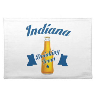 Indiana Drinking team Placemat
