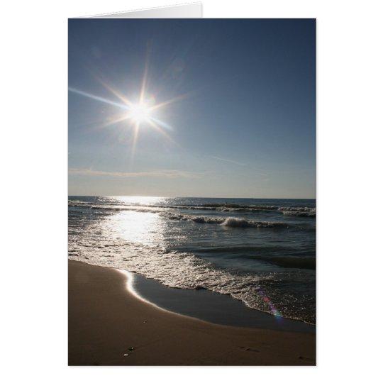 Indiana Dunes Beach Card