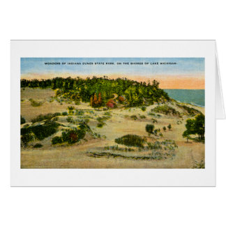Indiana Dunes State Park Lake Michigan, Indiana Card