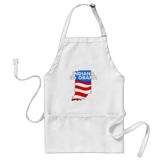 Indiana for Obama 2012 Standard Apron