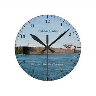Indiana Harbor clock