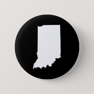 Indiana in White and Black 6 Cm Round Badge