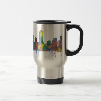 INDIANA, INDIANAPOLIS SKYLINE TRAVEL MUG