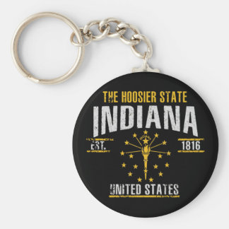 Indiana Key Ring