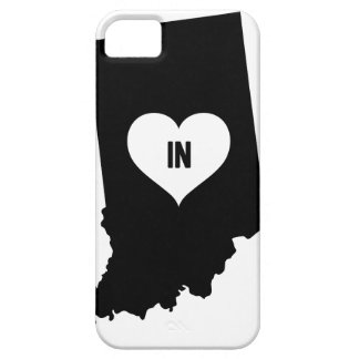 Indiana Love Barely There iPhone 5 Case