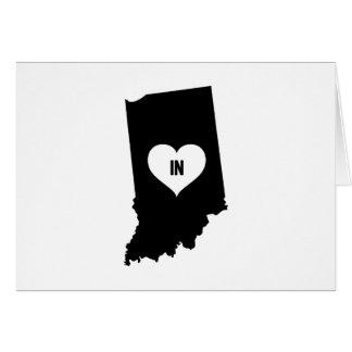 Indiana Love Card