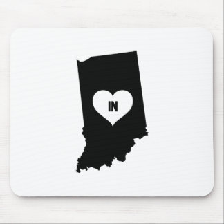 Indiana Love Mouse Pad