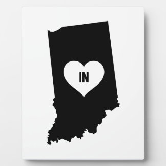 Indiana Love Plaque