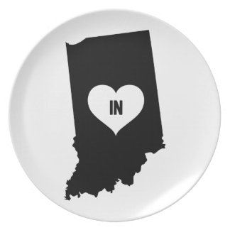 Indiana Love Plate