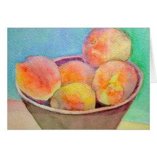 Indiana Peaches Card
