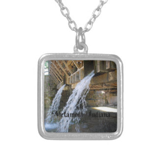 Indiana Silver Plated Necklace